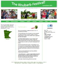 Lanesboro's Rhubarb Festival
