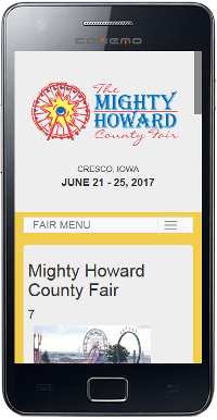Howard County Fair Mobile Site