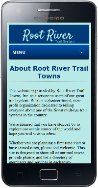 Root River Trail Mobile Site